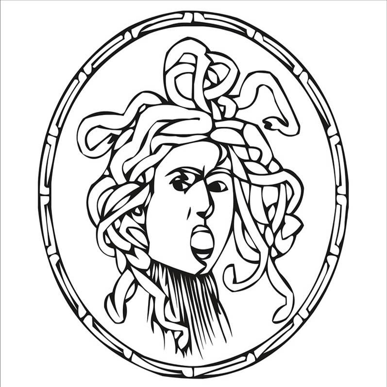 Festa unit d 39 italia lavoretti poesie canzoni disegni for Medusa da colorare