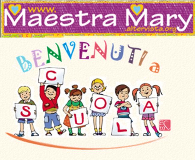 Accoglienza lavoretti canzoni disegni filastrocche for Lavoretti di natale maestra mary