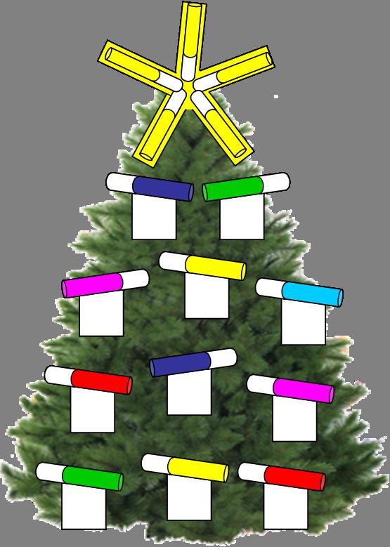 Natale decorarazioni per l 39 albero dei bambini - Idee per decorare l albero ...