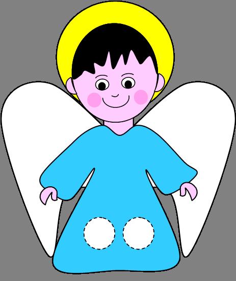 Natale burattini infiladita for Disegni di angeli da stampare