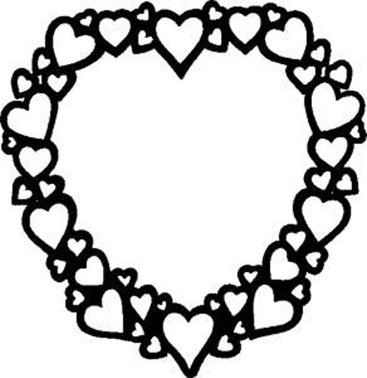 valentine coloring pages to print out - photo #20
