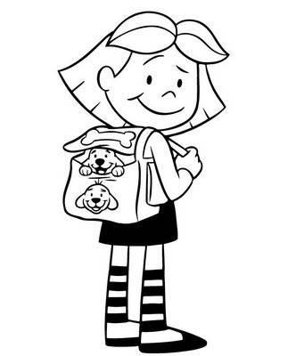 Disegni accoglienza per bambini for Disegno bambina da colorare