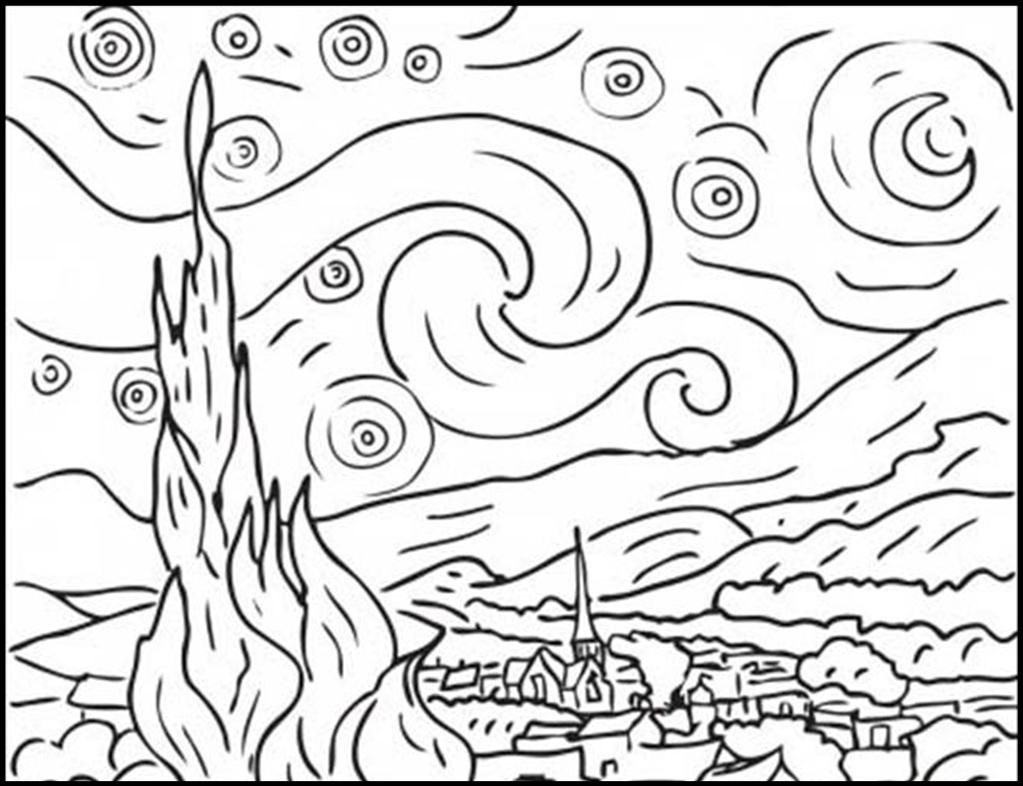 d arte mural coloring pages - photo #29