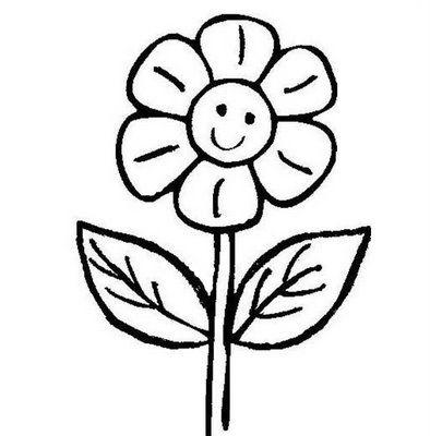 Disegni da colorare schede operative for Fiori da disegnare facili