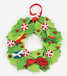 Lavoretti Di Natale Ghirlande Per Bambini.Natale Lavoretti Per Bambini Ghirlande
