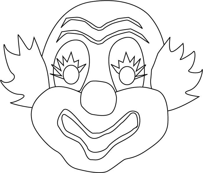 Disegni Maschere Di Carnevale Da Colorare E Stampare Pagina 2