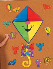 Accoglienza lavoretti canzoni disegni filastrocche - Immagini di aquiloni per colorare ...