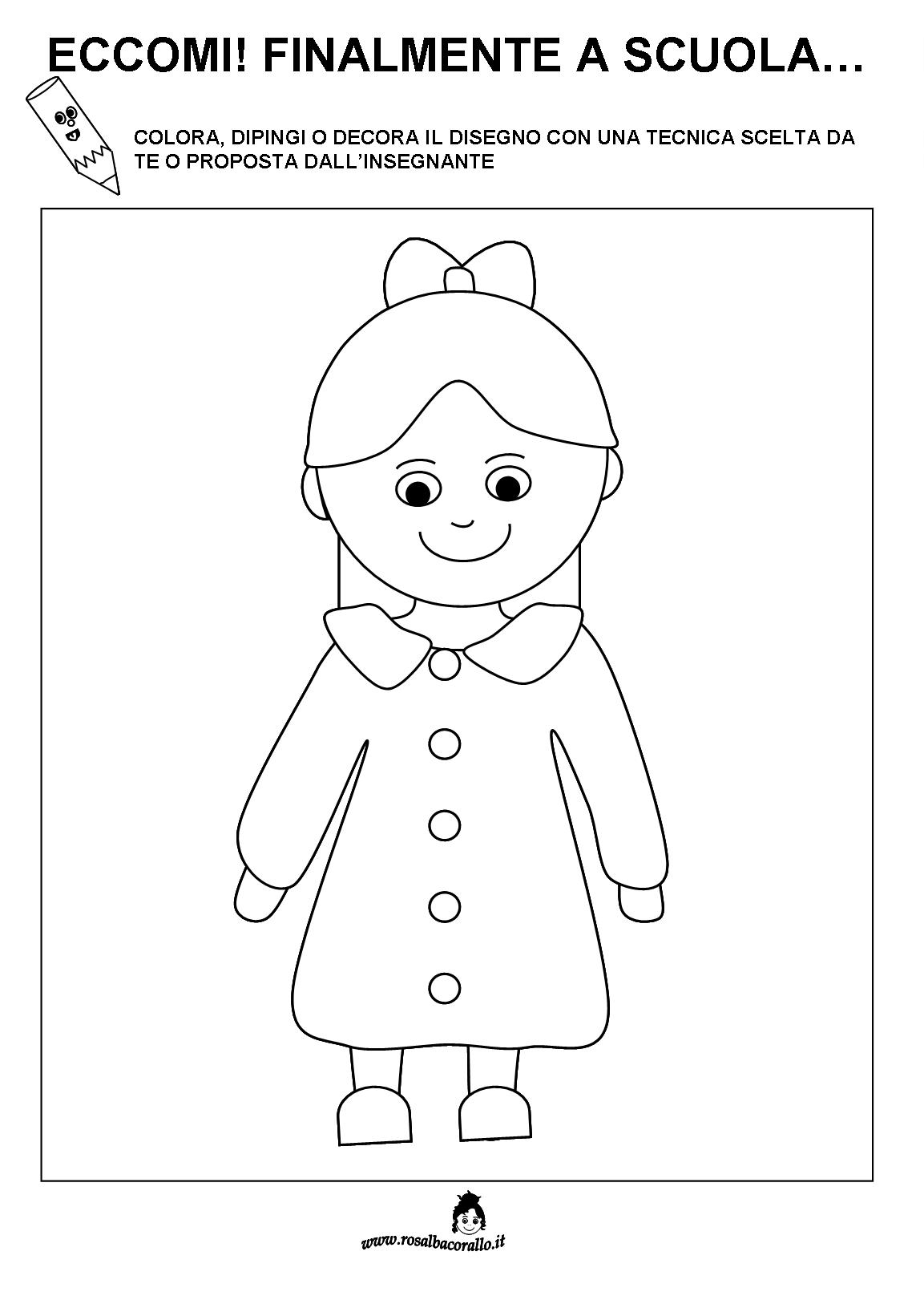 Popolare Schede didattiche accoglienza per bambini SP86