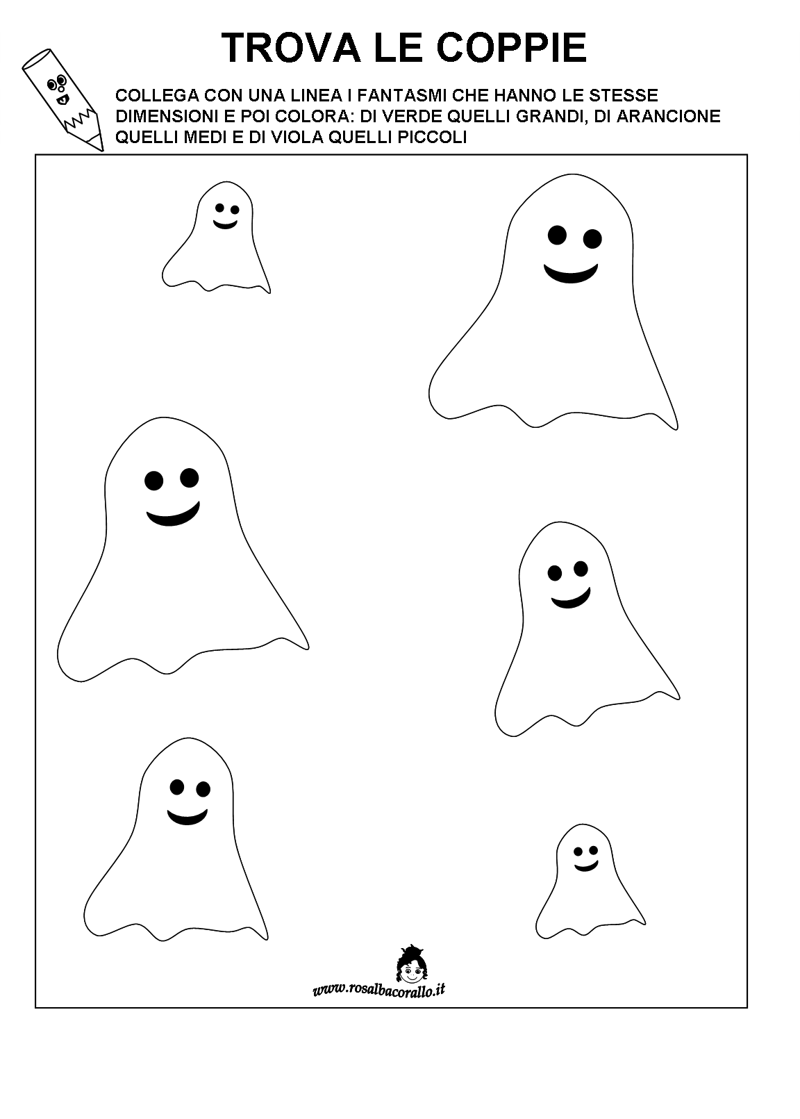 spesso Halloween Schede didattiche JP74