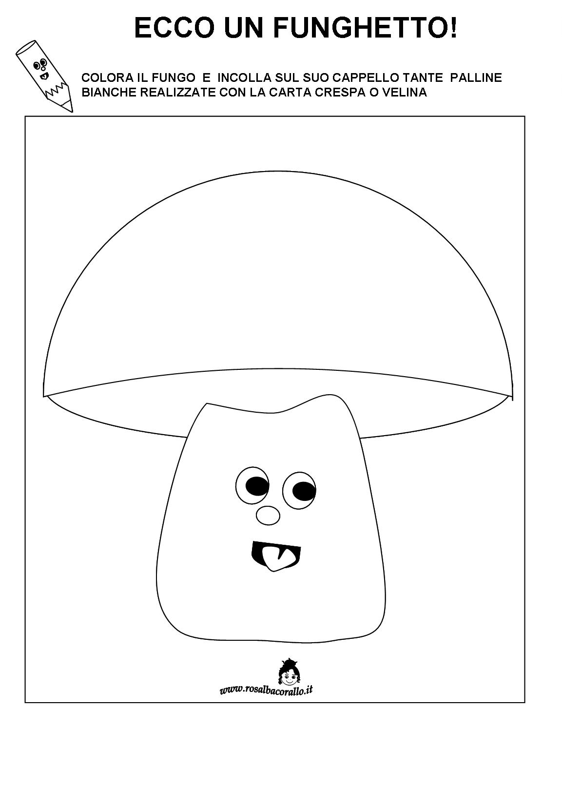 Favoloso Schede didattiche Autunno per bambini di 3/4 anni RA48