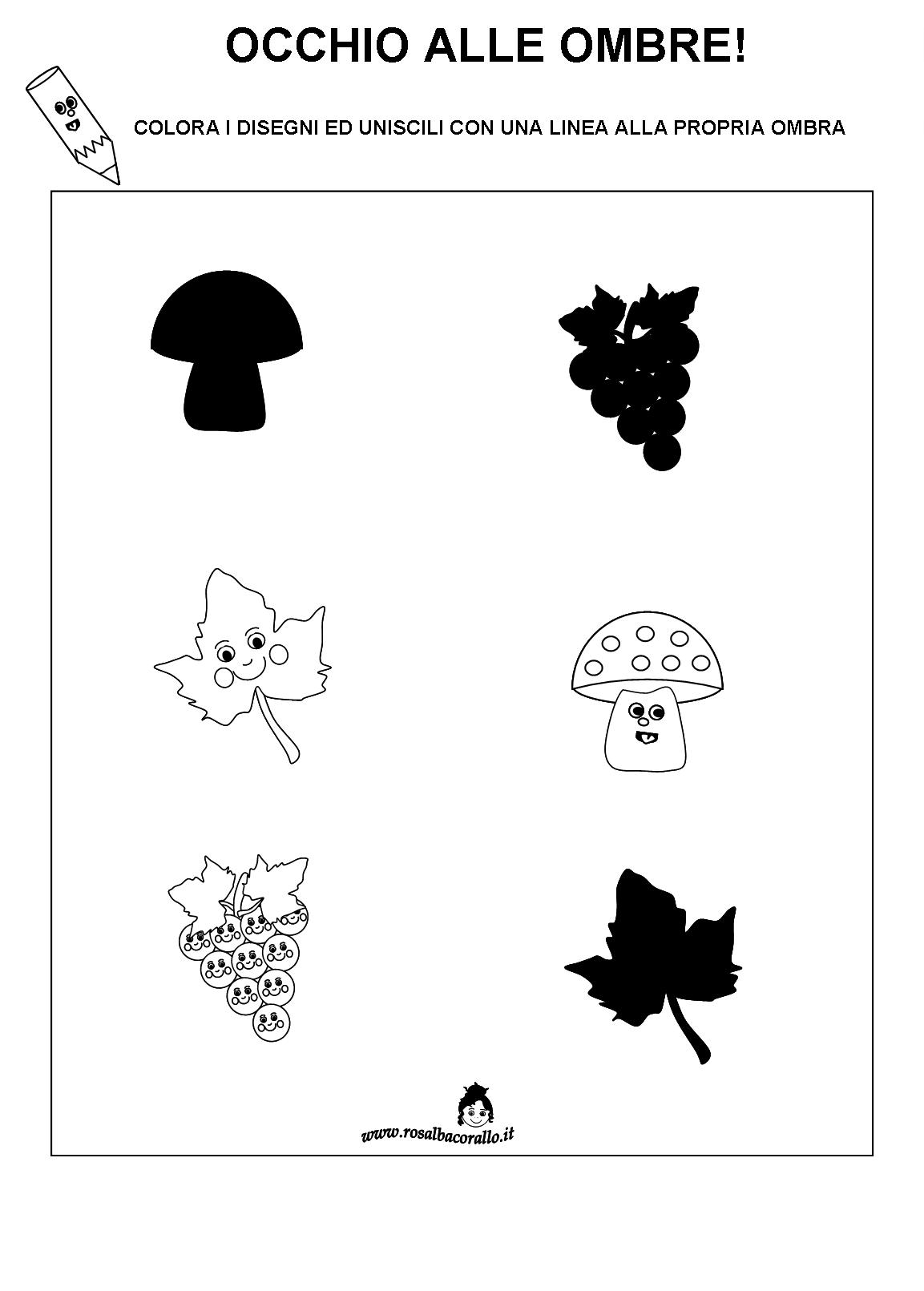 Top Autunno lavoretti disegni poesie per bambini HQ24