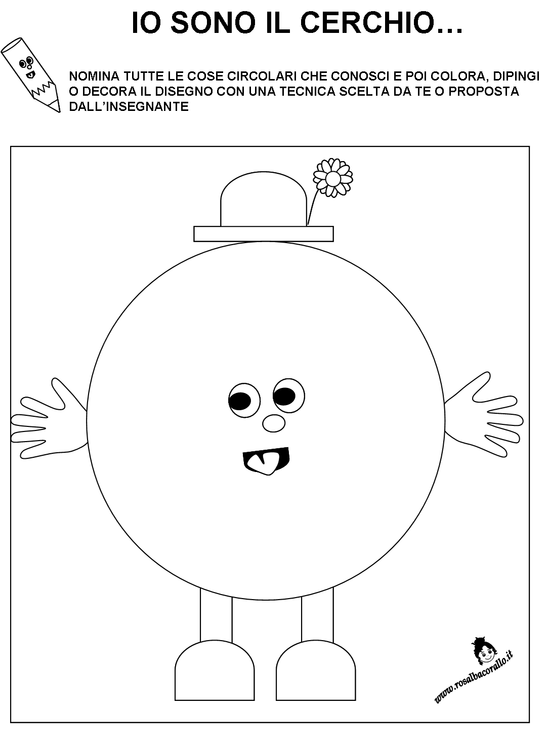 Popolare Forme Geometriche Per La Scuola Dell'infanzia - Lessons - Tes Teach VZ06