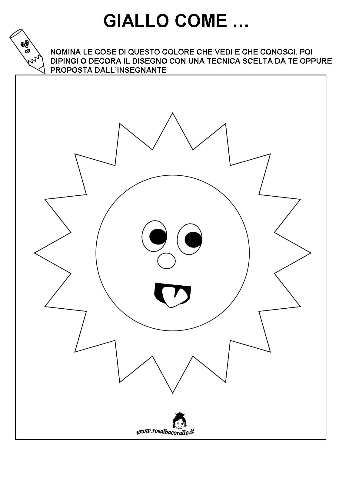 Schede didattiche sui colori primari - Colore per numeri per i bambini ...