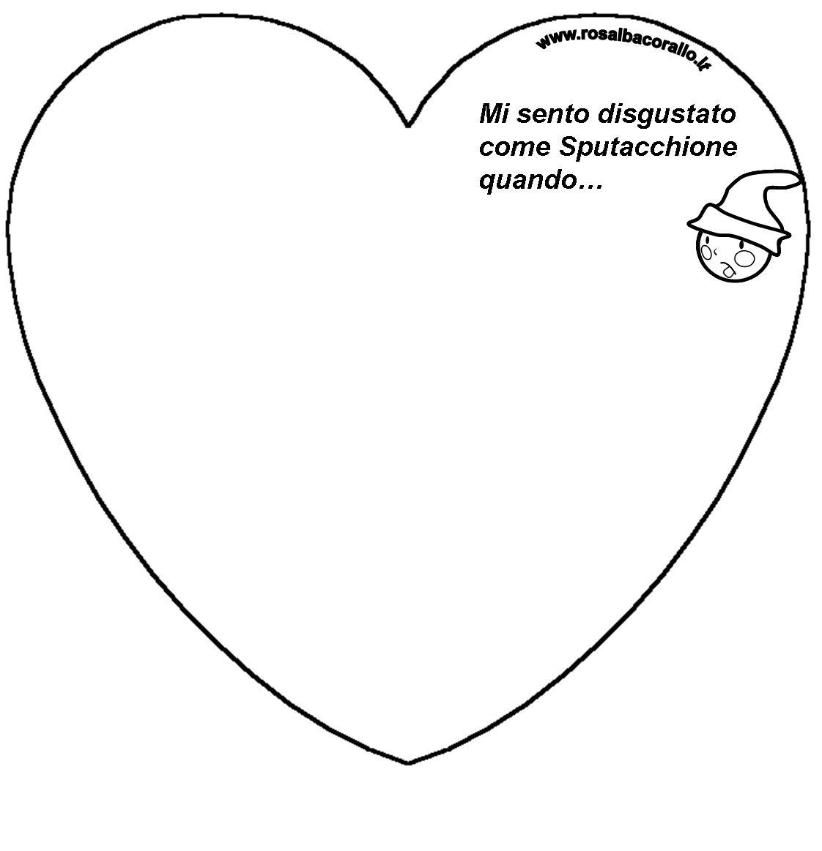 pagine da colorare per san valentino immagini